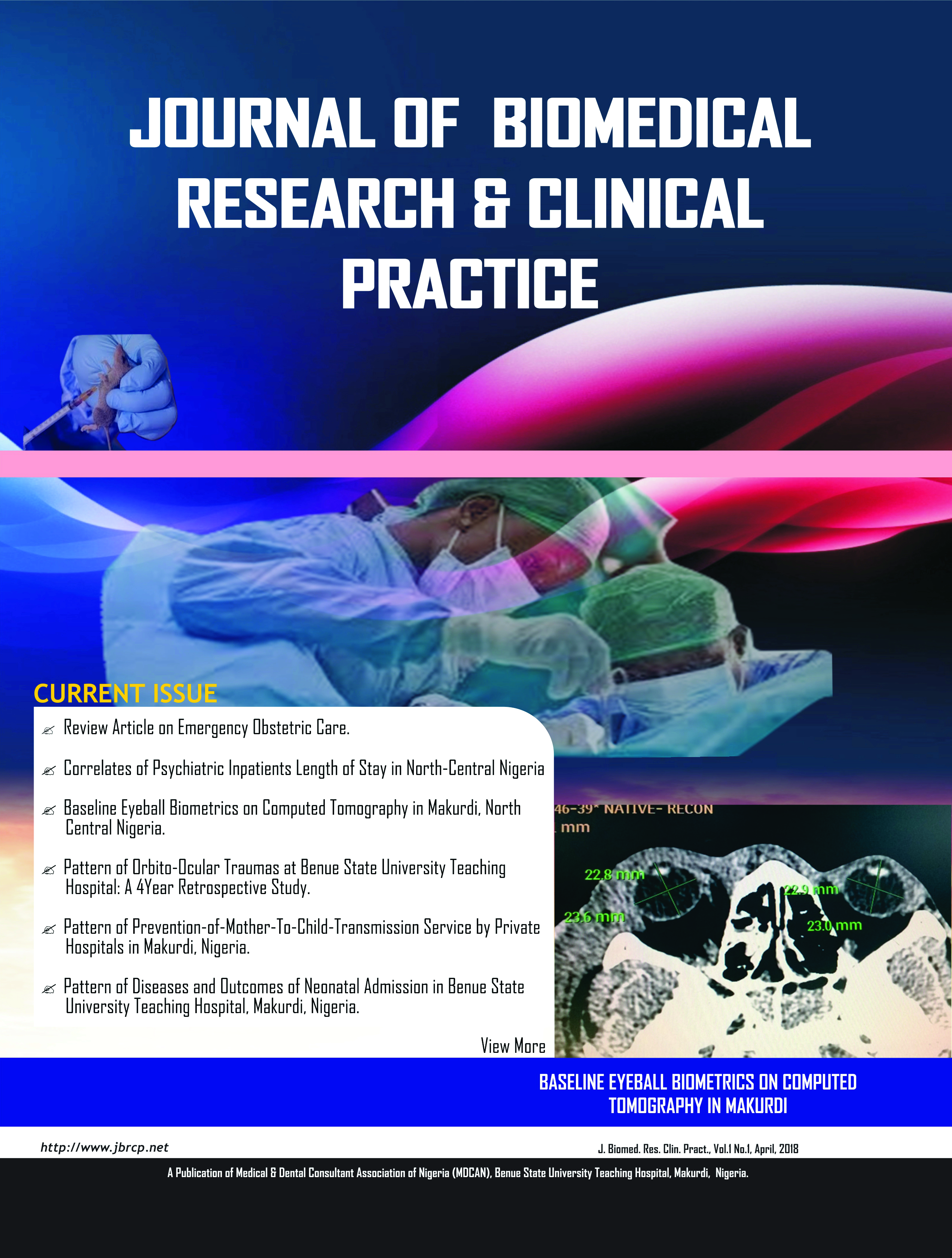 front cover image of jbrcp